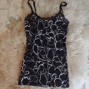Black and white Size small tank top